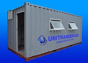 Locação e venda de containers marítimos habitável