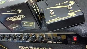 Amplificador meteoro nitrous gs100 - 100w, 2x10'