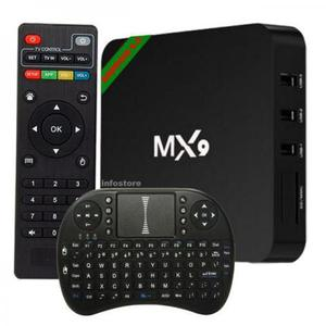 Aparelho trasnformar em smart tv box mx9 4k android + mini