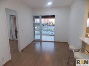 Apartamento semi mobiliano brooklin com 70 m² tudo novo