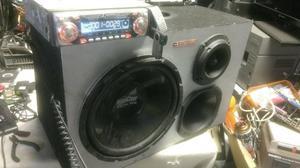Caixa + módolo+ rádio
