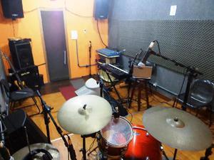 Estudio de gravação e ensaio - cachambi - rj