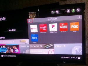 """Tv smart lg 50"""" polegadas telão"""