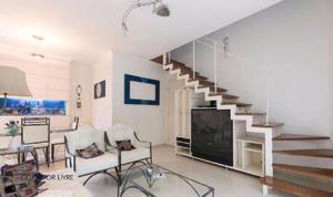 Apartamento duplex residencial para venda e locação,