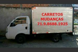 Carretos mudanças fretes transportes de cargas
