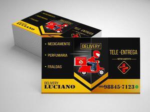 Cartão de visita 70 reais promoção