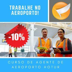 Curso de formação de agente de aeroporto -10% de desconto