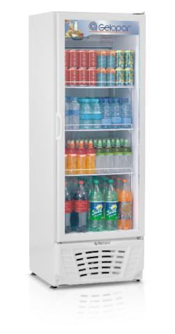 Freezer refrigerador vertical 414 litros gelopar