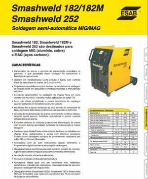Máquina solda semi automática mig/mag