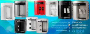 Promoção de purificadores de água e refresqueira
