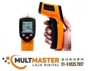 Termômetro digital infravermelho laser - medir temperatura