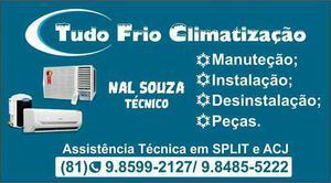 Tudo frio climatização instalações e serviços de ar