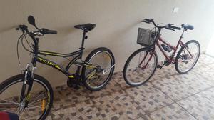 2 bicicletas semi novas por 850 reais !