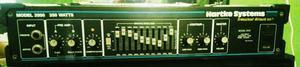 Amplificador cabeçote hartke sistem 3500