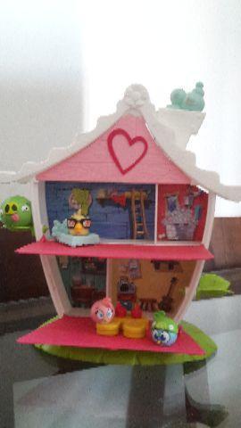 Angry birds casa da stella/casinha boneca e polly