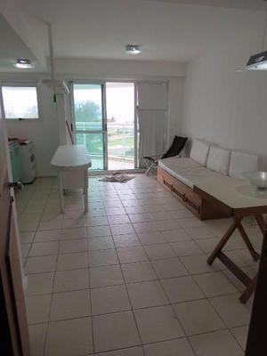 Apartamento mobiliado de 1 quarto no pontal