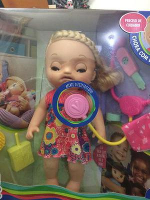 Baby alive doces lágrimas original