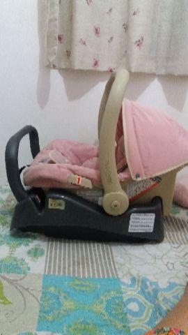 Bebê conforto feminino com adaptador (burigotto)