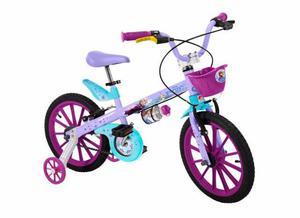 Bicicleta aro 16 bandeirantes frozen usada