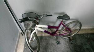 Bicicleta com rodinha semi-usada