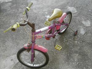 Bicicleta da poly aro 16 para menina!