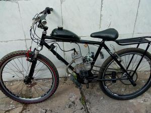 Bicicleta motorizada 80cc vendo ou troco