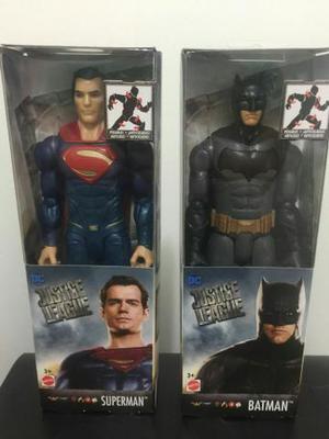 Bonecos superman e batman liga da justiça dc mattel em São José Dos ... 029532b28ee