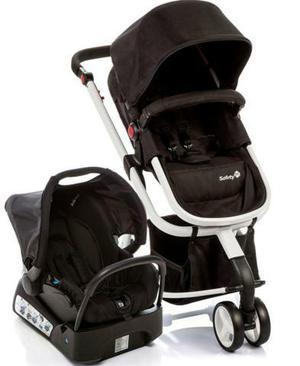 Carrinho de bebê quase não foi usado safety 1 st preto e