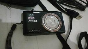 Câmera fotográfica digital nikon 16 megapixels