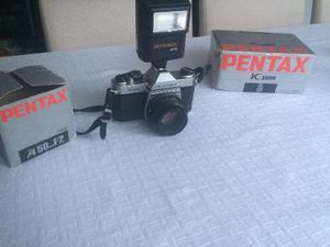 Câmera fotográfica pentax k 1000 - pouco usada
