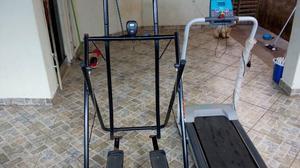 Esteira e simulador de caminhada