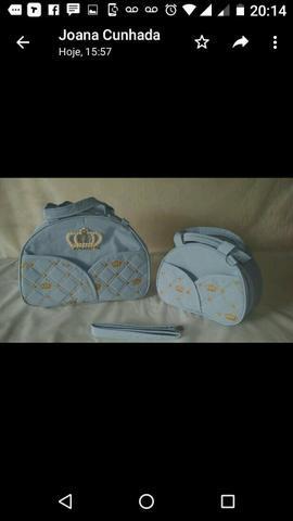 Kit de bolsa de bolsa para bebê menino e menina