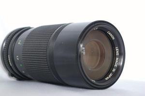 Lente canon fd 70-150mm f/4.5
