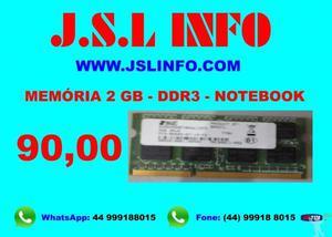 Memórias ddr3 - ddr2 - ddr1
