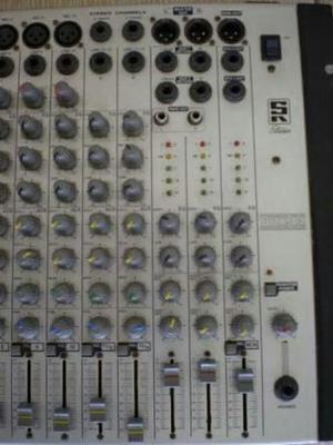 Mesa de som staner 16 canais + pa 2000 staner
