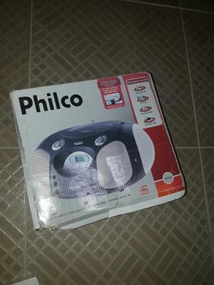 Micro system philco som usb cd am e fm