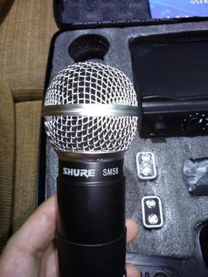 Microfone shure sm58 sem fio original