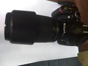 Nikon d3200 com lente 18-55 mm e 70-300mm