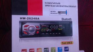 Rádio de carro bluetooth novo
