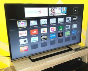 "Smart tv(wifi) 42"" led panasonic com nota fiscal"