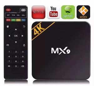 Tv box mx9 4k ultra hd 6.0- netflix youtube kodi (aceito