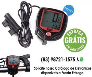 Velocímetro digital odômetro bike prova d' água - entrega