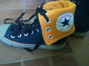 All star preto/laranja