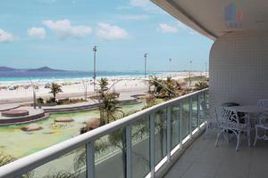 Apartamento residencial à venda, praia do forte, cabo
