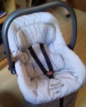 Bebê conforto burigotto com base + espelho retrovisor