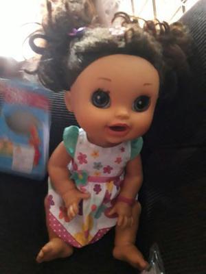 Boneca baby alive na de come