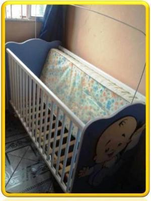 Kit - berço mais colchão, bebê conforto e carrinho