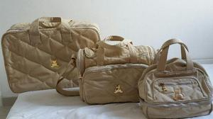 Kit bolsas maternidade bl baby semi novas