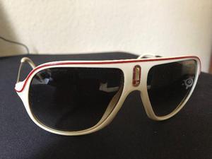 0fde237f03 Oculos escuro de sol carrera safari r bege e vermelho