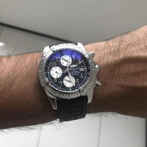 ae932523bf6 Relógio breitling chronomat evolution black